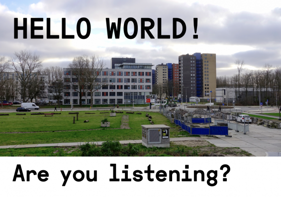 Podcast: Hello World! Are you listening?